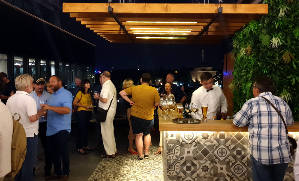 Rooftop bar - Hotel Arka